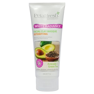 Пэтал Фрэш, Botanicals, White Radiance Facial Clay Masque, Avocado + Green Tea, 7 fl oz (200 ml) отзывы