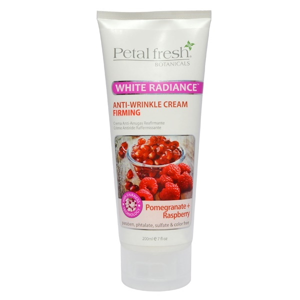 Petal Fresh, Botanicals, Anti-Wrinkle Cream, Firming, Pomegranate + Raspberry, 7 fl oz (200 ml) (Discontinued Item)