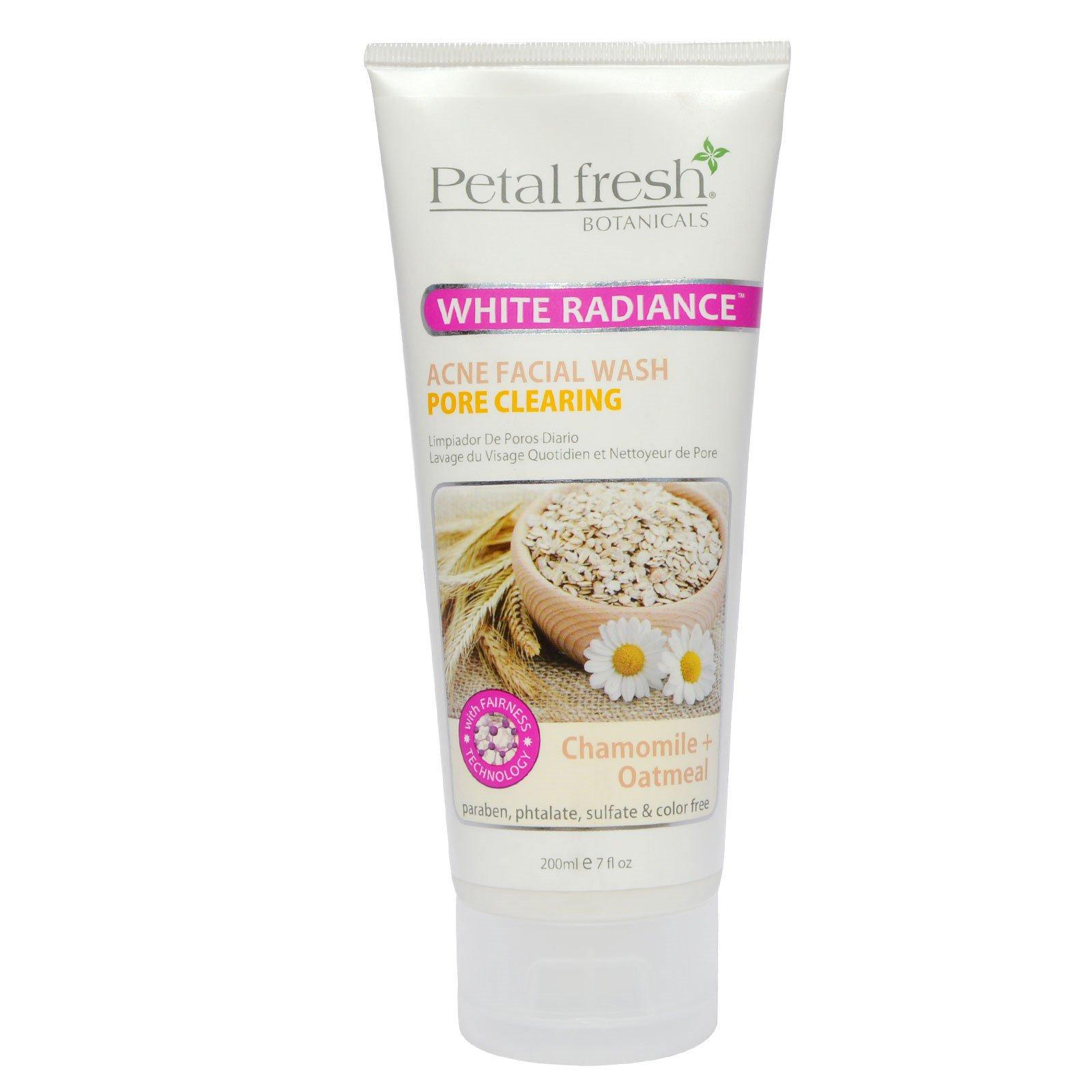 Petal Fresh, Botanicals Whitening Oatmeal & Chamomile Acne Facial Wash, 7.oz