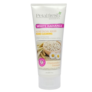 Petal Fresh, Botanicals, Acne Facial Wash, Pore Clearing, Chamomile + Oatmeal, 7 fl oz (200 ml)