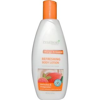 Petal Fresh, Botanicals, Refreshing Body Lotion, Mango & Guava, 10 fl oz (300 ml)