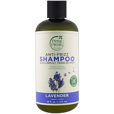 Купить Pure, Shampoo, Anti-Frizz Lavender, 16 fl oz (475 ml)