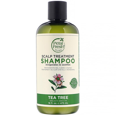 Купить Шампунь для ухода за кожей головы, чайное дерево, 475 мл (16 жидких унций)