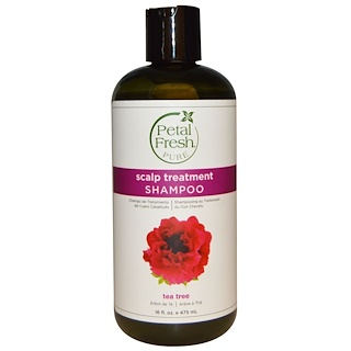 Petal Fresh, Pure, Scalp Treatment Shampoo, Tea Tree, 16 fl oz (475 ml)