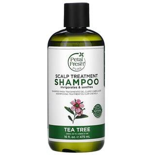 Petal Fresh, Champú para el tratamiento del cuero cabelludo, Árbol del té, 475ml (16oz.líq.)
