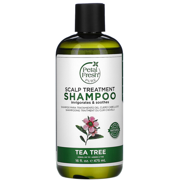Scalp Treatment Shampoo, Tea Tree, 16 fl oz (475 ml)