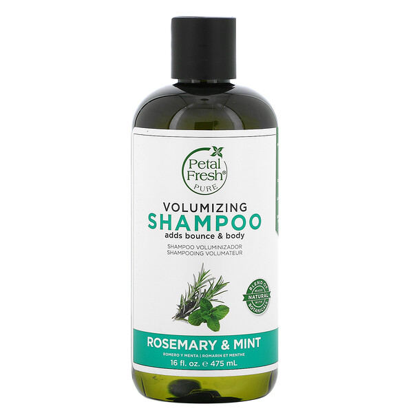 Volumizing Shampoo, Rosemary & Mint, 16 fl oz (475 ml)
