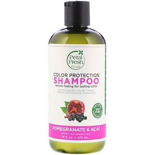 Petal Fresh, Pure, Color Protection Shampoo, Pomegranate and Acai, 16 fl oz (475 ml)