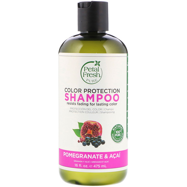 Petal Fresh, Pure, Color Protection Shampoo, Pomegranate and Acai, 16 fl oz (475 ml)