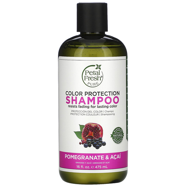 Pure, Color Protection Shampoo, Pomegranate and Acai, 16 fl oz (475 ml)