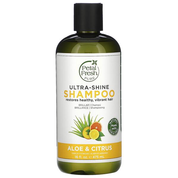 Pure, Ultra-Shine Shampoo, Aloe and Citrus, 16 fl oz (475 ml)
