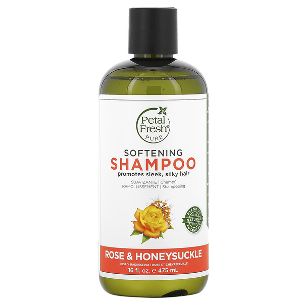 Pure, Softening Shampoo, Rose & Honeysuckle, 16 fl oz (475 ml)