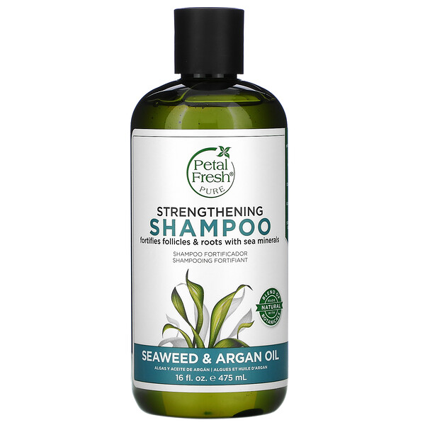 Strengthening Shampoo, Seaweed & Argan Oil, 16 fl oz (475 ml)