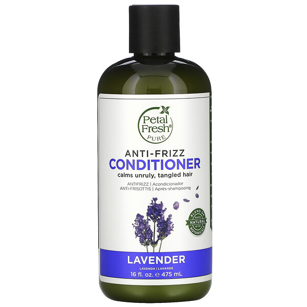Pure, Anti-Frizz Conditioner, Lavender, 16 fl oz (475 ml)