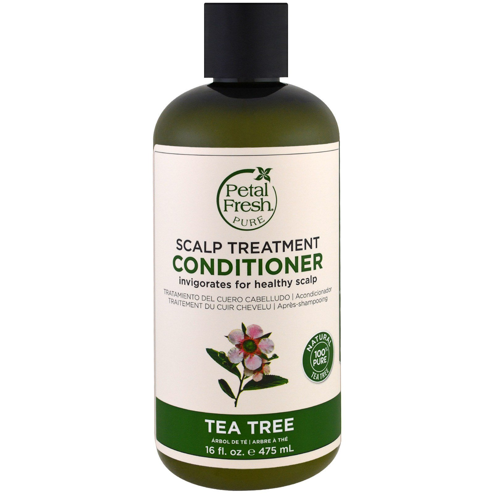 Petal Fresh, Pure, Conditioner, Scalp Treatment, Tea Tree, 16 fl oz (475 ml)