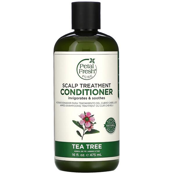 Pure, Conditioner, Scalp Treatment, Tea Tree, 16 fl oz (475 ml)