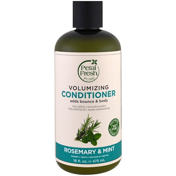 Pure, Volumizing Conditioner, Rosemary & Mint, 16 fl oz (475 ml)