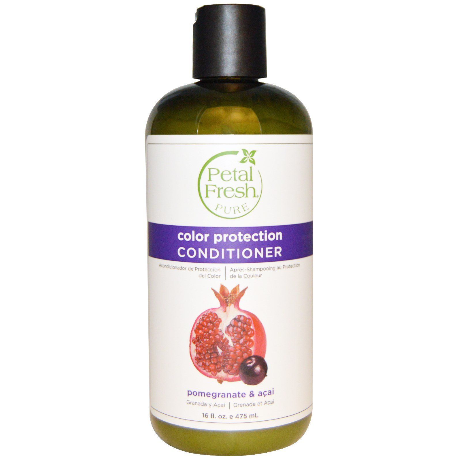 Petal Fresh, Pure, Conditioner, Color Protection, Pomegranate and Acai, 16 fl oz (475 ml)