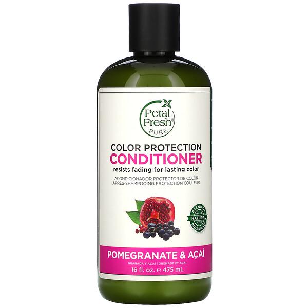 Pure, Color Protection Conditioner, Pomegranate & Acai, 16 fl oz (475 ml)