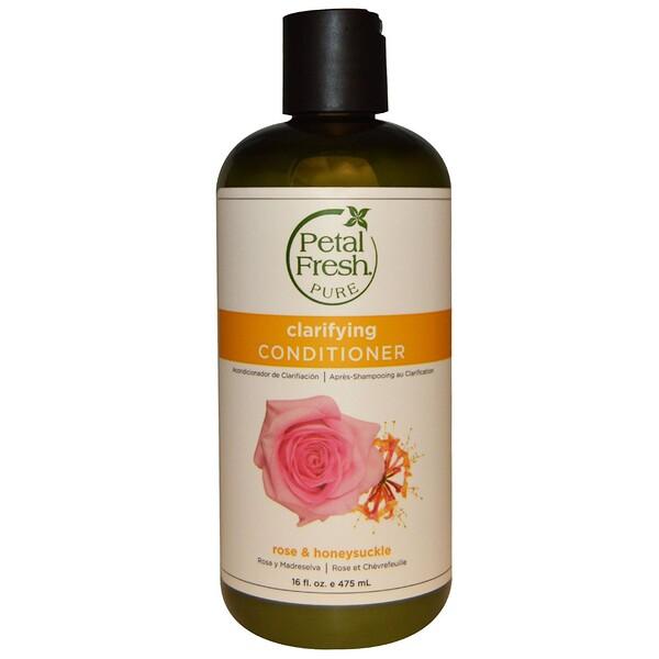 Pure, Softening Conditioner, Rose & Honeysuckle, 16 fl oz (475 ml)