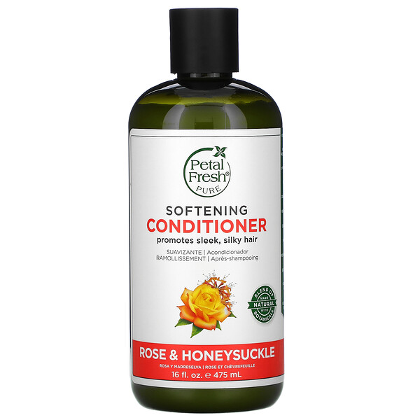 Softening Conditioner, Rose & Honeysuckle, 16 fl oz (475 ml)
