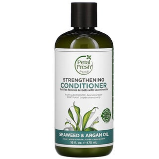 Petal Fresh, Pure, Strengthening Conditioner, Seaweed & Argan Oil, 16 fl oz (475 ml)