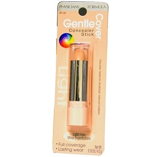 Physicians Formula, Gentle Cover Concealer Stick, Light, 0.15 oz (4.2 g)