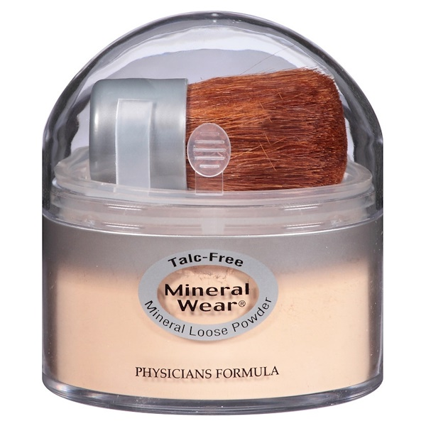 Physicians Formula, Mineral Wear, Loose Powder, Translucent Light, SPF 16, 0.49 oz (14 g) (Discontinued Item)