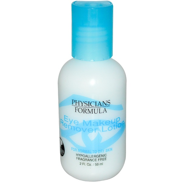 Physicians Formula, Eye Makeup Remover Lotion, 2 fl oz (59 ml)
