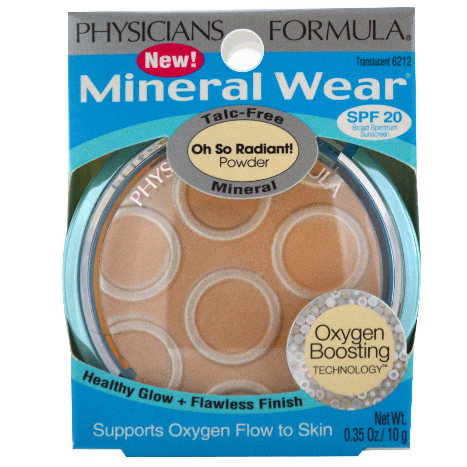 Physician\'s Formula, Inc., Mineral Wear, Talc-Free Mineral Powder ...
