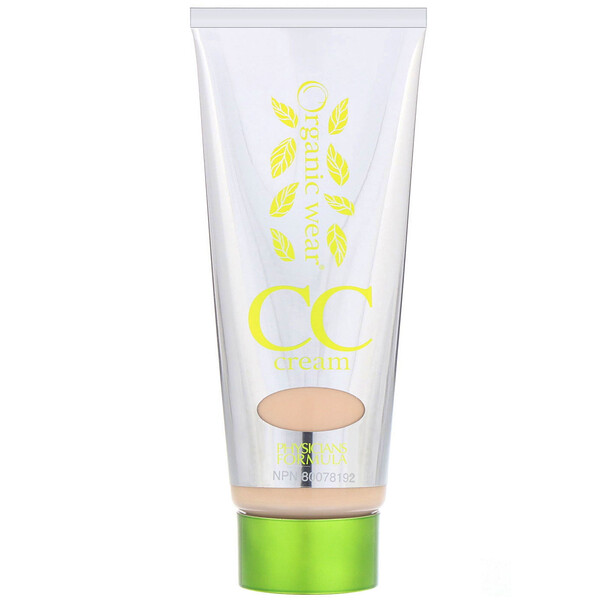 Physicians Formula, Organic Wear, CC, Color + Correction Cream, Light, 1.2 fl oz (35 ml) (Discontinued Item)