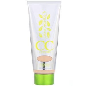 Физишэнс Формула Инк, Organic Wear, CC, Color + Correction Cream, Light, 1.2 fl oz (35 ml) отзывы
