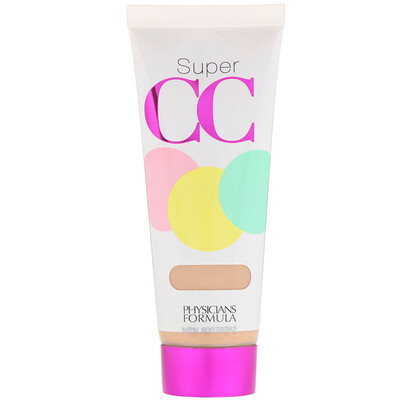 Super CC, Color-Correction + Care Cream, SPF 30, Light, 1.2 fl oz (35 ml)