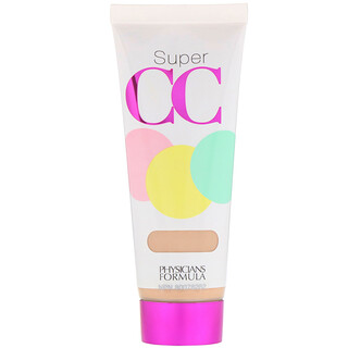 Physicians Formula, Super CC, Color-Correction + Care Cream, SPF 30, Light, 1.2 fl oz (35 ml)
