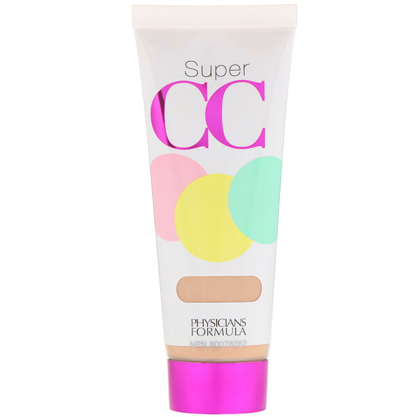 Super CC, Color-Correction + Care Cream, SPF 30, Light, 1.2 fl oz (35 ml)