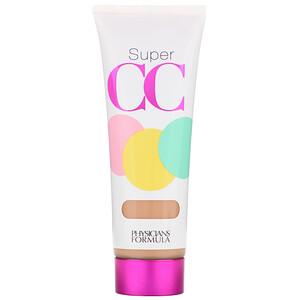 Физишэнс Формула Инк, Super CC+, Color-Correction + Care, Cream, SPF 30, Light/Medium, 1.2 fl oz (35 ml) отзывы покупателей