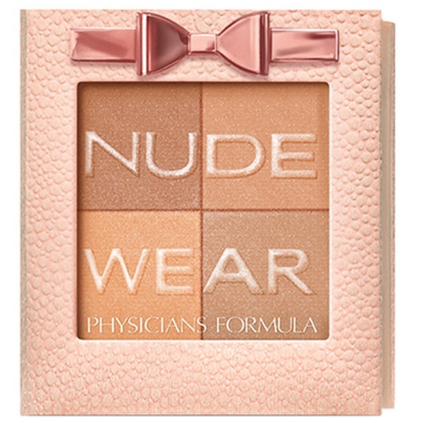 Physicians Formula, Nude Wear, Glowing Nude Bronzer, Light Bronzer, 0.24 oz (7 g) (Discontinued Item)