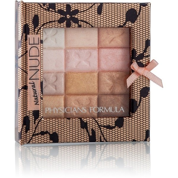 Physician's Formula, Inc., Shimmer Strips, All-In-1 Custom Nude Palette, For Face & Eyes, Natural Nude, 0.26 oz (7.5 g)