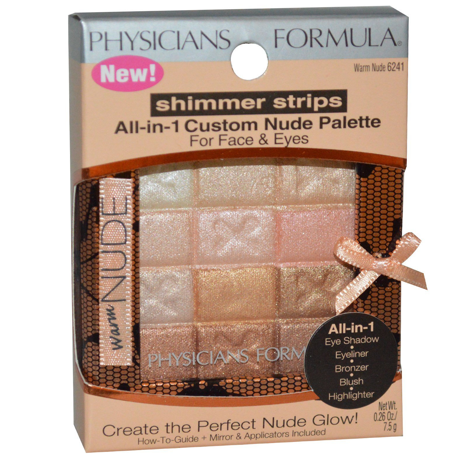 Physicians Formula Inc Shimmer Strips All In 1 Custom Nude