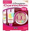 Physicians Formula, Complete Correction, Super CC Color-Correction + Care Makeup, Light-Medium Kit, SPF 30, 3 Piece Kit