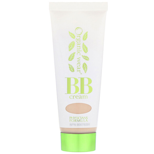 Physicians Formula, Organic Wear, BB All-in-1 Beauty Balm Cream, SPF 20, Light, 1.2 fl oz (35 ml)