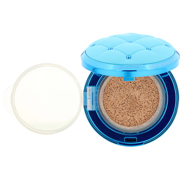 Physicians Formula, Mineral Wear, Cushion Foundation, SPF 50, Light, 0.47 fl oz (14 ml) (Discontinued Item)