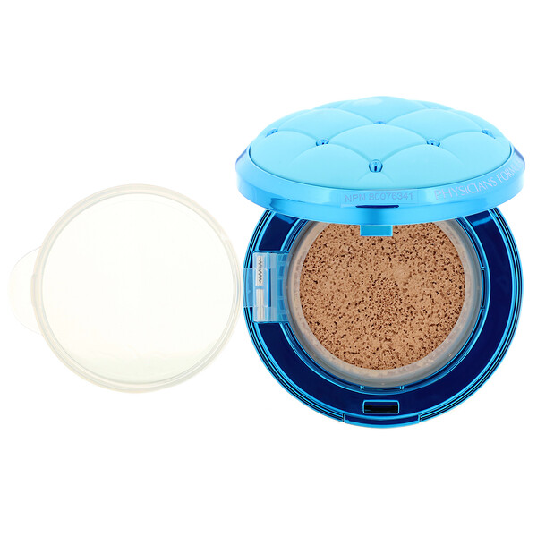 Physicians Formula, Mineral Wear, Cushion Foundation, SPF 50, Light/Medium, 0.47 fl oz (14 ml) (Discontinued Item)
