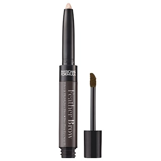 Physician's Formula, Inc., Feather Brow, Black Brown, 0.021 oz (0.6 g)