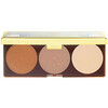 Physicians Formula, Highlight & Contour Palette, Bronze Booster, Matte Sculpting, 0.30 oz (9 g)