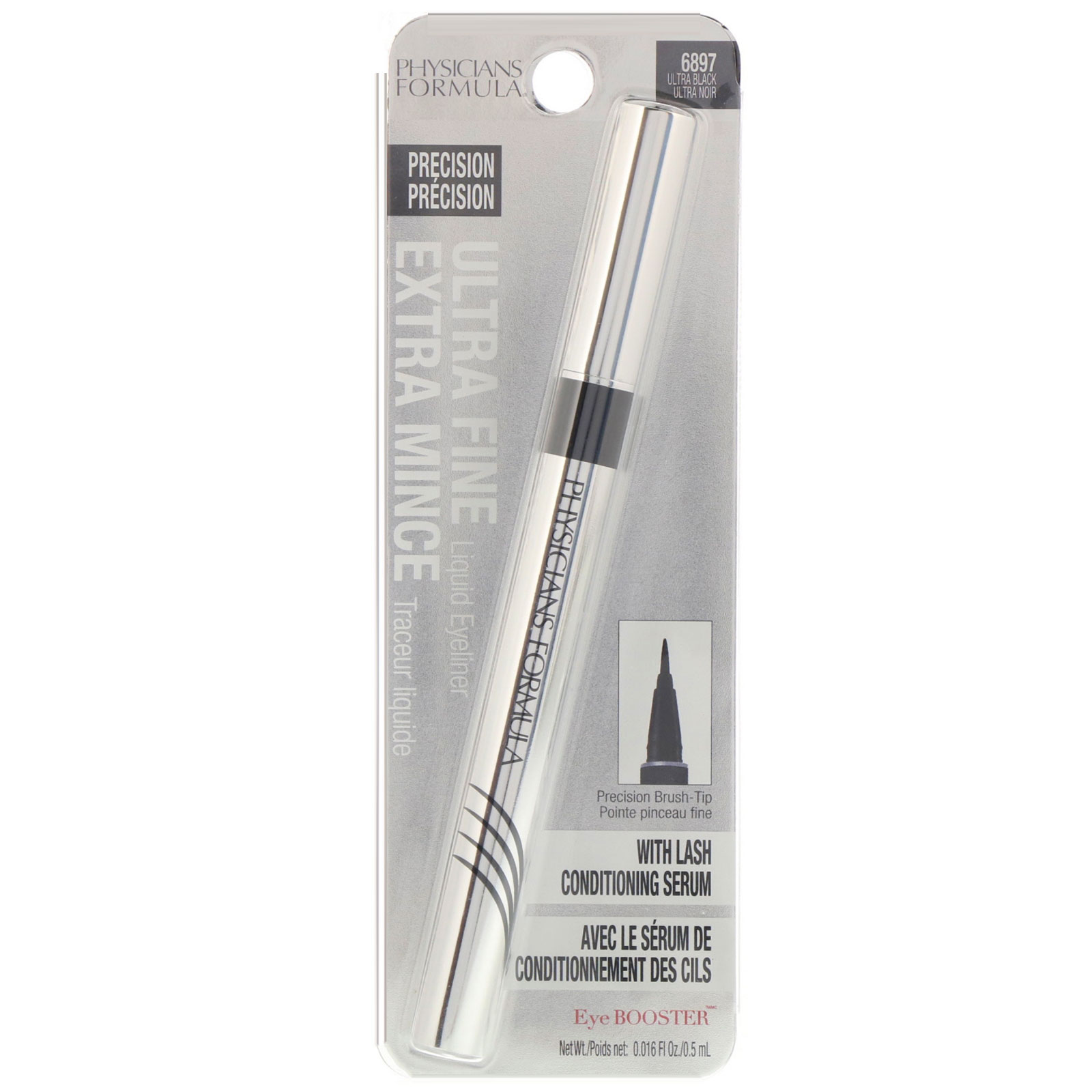 Physicians Formula, Eye Booster, Ultra Fine Liquid Eyeliner with