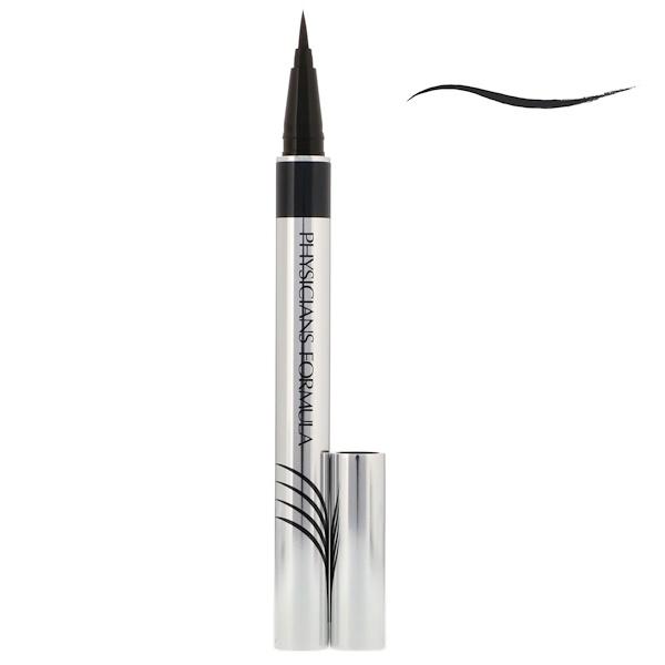 Physician's Formula, Inc., Eye Booster, Ultra Fine Liquid Eyeliner with Lash Conditioning Serum, Ultra Black, 0.016 fl oz (0.5 ml)