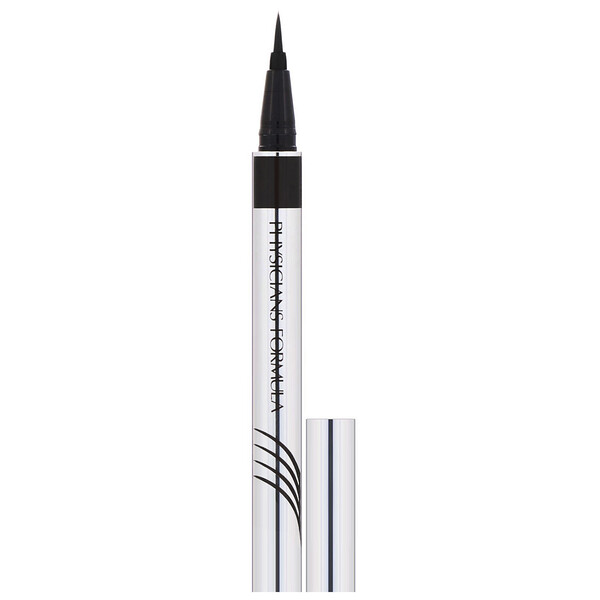 Eye Booster, Ultra Fine Liquid Eyeliner with Lash Conditioning Serum, Ultra Black, 0.016 fl oz (0.5 ml)