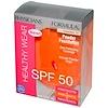 Physician's Formula, Inc., Healthy Wear, SPF 50, Powder Foundation, Translucent Medium, 0.34 oz (9.6 g) (Discontinued Item)