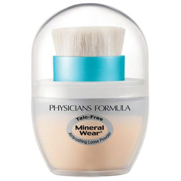 Physicians Formula, Mineral Wear, Mineral Airbrushing Loose Powder, SPF 30, Creamy Natural, 0.35 oz (10 g) (Discontinued Item)